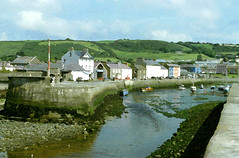 Aberaeron Harbour (Nogoodboyo) Tags: beach wales river harbour watercolour ceredigion midwales aberaeron britishseascapes