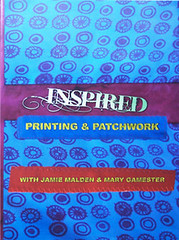 DVD Inspired Printing & Patchwork (Photo by iHanna - Hanna Andersson)