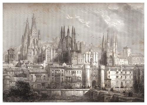 006-Burgos-Voyage pittoresque en Espagne et en Portugal 1852- Emile Bégin