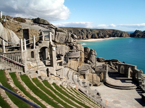Minack Theatre History The Minack Theatre Cornwall