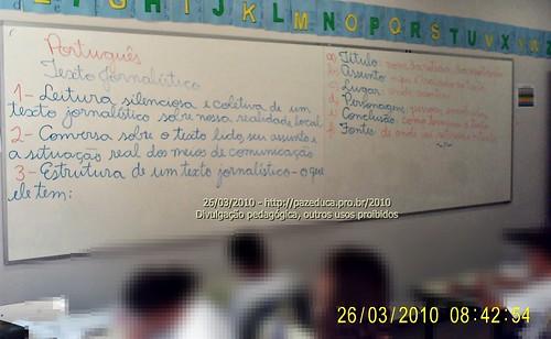 Texto Jornalistico - 26/03/2010.