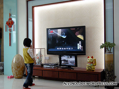 With CCTVs - they get to work from home while watching television