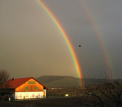 Fascinating Nature - First Double Rainbow (Batikart ... handicapped ... sorry for no comments) Tags: sunset red sky cloud sun house mountain color colour building tree green art nature rain weather architecture canon germany dark landscape geotagged deutschland gold evening abend vineyard spring rainbow twilight flora europa europe sonnenuntergang natur arc himmel architektur thunderstorm dmmerung geology grn blau eveningsky landschaft sonne 500faves gewitter baum gebude regen regenbogen 2010 frhling weinberg fellbach geologie badenwrttemberg frhjahr swabian canonpowershota610 100faves 200faves viewonblack 300faves superaplus aplusphoto 400faves batikart imagesforthelittleprince mygearandmepremium mygearandmebronze mygearandmesilver mygearandmegold mygearandmeplatinum
