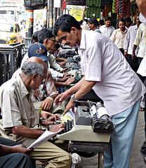 Typists for Hire - Calcutta (FabIndia) Tags: india kolkata calcutta
