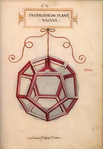 004-Dodecaedro hueco-De Divina Proportione 1509-Luca Pacioli