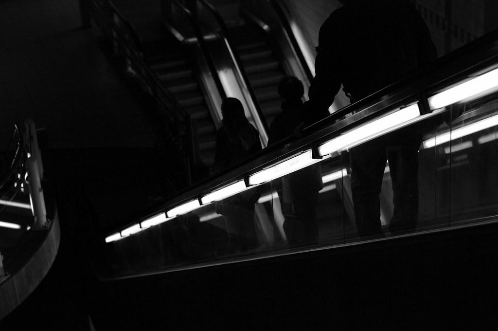 Rotterdam Blaak escalator