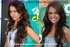 Mileys Hair