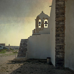 Church of Nossa Senhora da Graa inside the Fortress of Sagres (pixel_unikat) Tags: portugal stairs bell chapel staircase algarve textured sagres 500x500 artistictreasurechest churchofnossasenhoradagraa