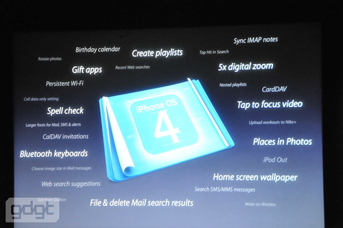 iPhone 4.0 Features