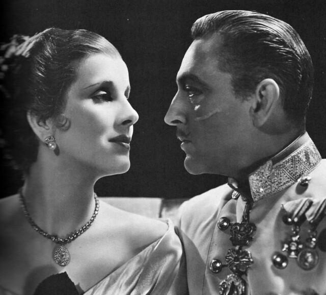 Diana Wynyard and John Barrymore