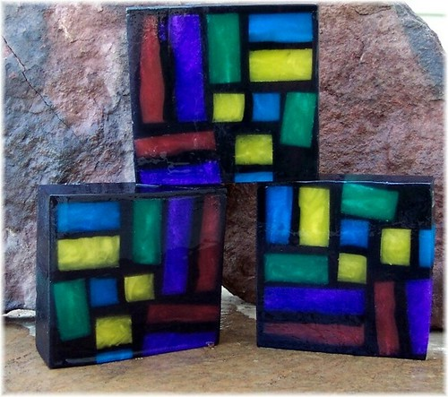 Stained Glass Handmade Soap by soapsmith