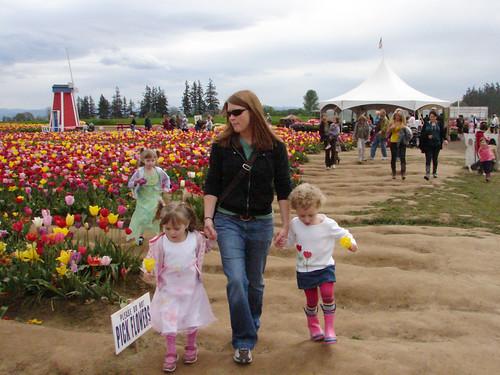 Tulips 2010 (pixelled)