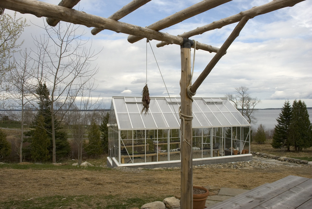 Greenhouse at Salt Water Farm