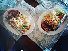 Chicken chop, Mirage Island Resort, Pulau Besar