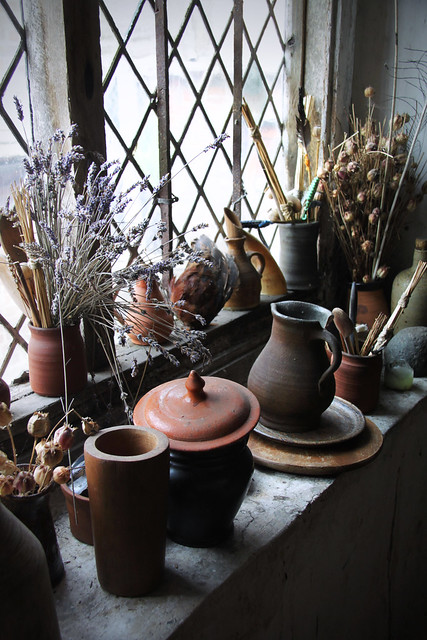 Kentwell Hall - Herbalists' room