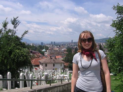 Julia in Bosnia, 2009