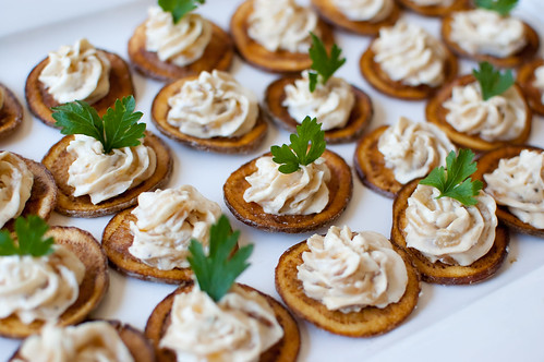 Ina Garten Appetizers pink parsley: caramelized onion dip