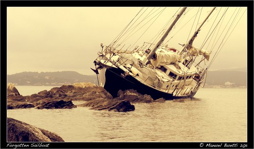 Forgotten Sailboat by TheLostFrame
