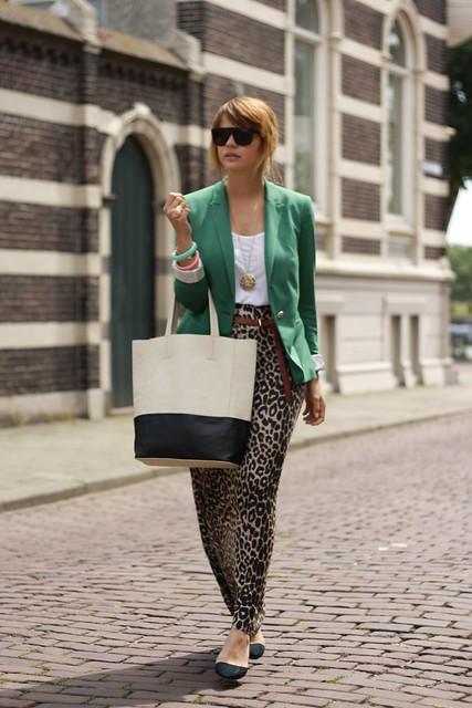 groene blazer 211