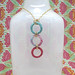 Twinkle Macrame 3-hoop Necklace