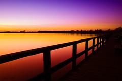 Sunset at Blankensee (.vermilion) Tags: longexposure sunset lake germany landscape sonnenuntergang landschaft brandenburg langzeitbelichtung ndfilter blankensee neutraldensityfilter canonefs1855mmf3556 graufilter canoneos50d neutraldichtefilter blinkagain