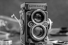 Rolleiflex TLR 80mm f2.8  (F series - K7F model) made from 1960-1965.) (Sub(urban) Art(ist) ( Fuji X-T1 )) Tags: rolleiflex tlr f28f f 28 carlzeissplanar80mmf28 fmodel igorskalceri