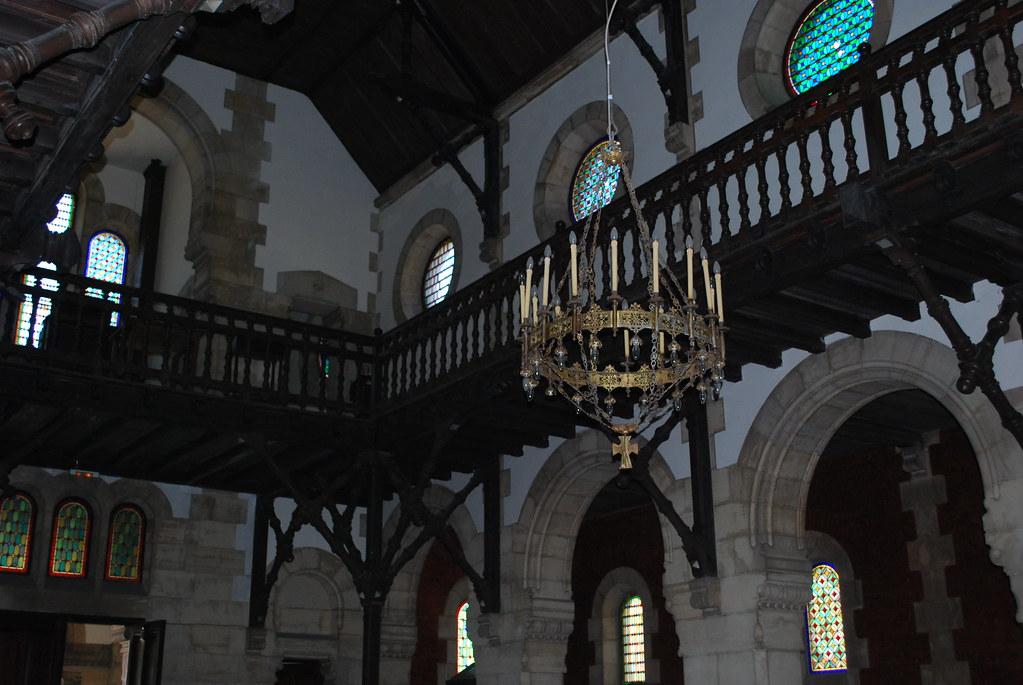 Interior de la Iglesia de Bustiello - Foto cedida por Carmen Alonso