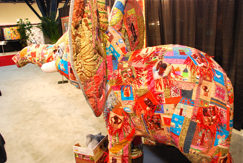 Quilted elephant