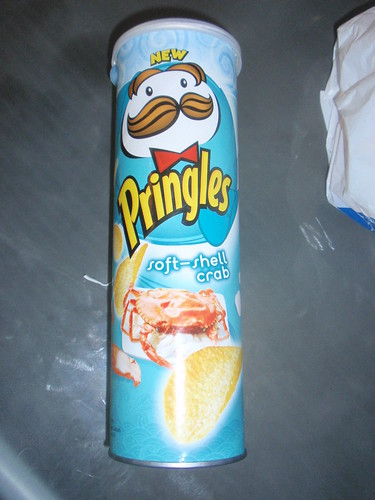The most interesting Pringles flavor I've seen yet...Soft Shell Crab!!