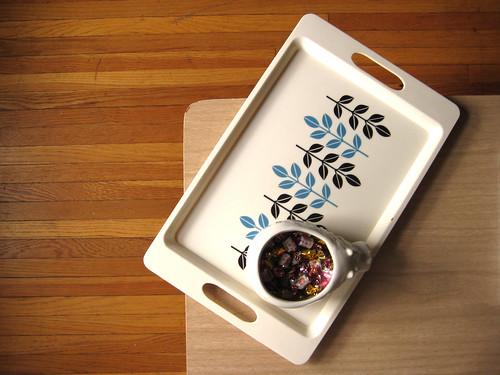 my tray