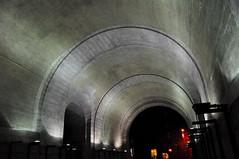 405-730 Manhattan Bridge Arch (Night) (JoelZimmer) Tags: newyork brooklyn night lowlight nikon dumbo tokina year2 yeartwo ultrawide d90 project365 nikond90 tokina1116mmf28