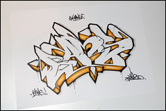 Setik01 (Setik01) Tags: urban streetart art graffiti design sketch tag hiphop spraypaint piece aerosol exchange spraycan blackbook bams fatcap setik