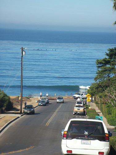 Surf at Ladera Street, San Diego, California