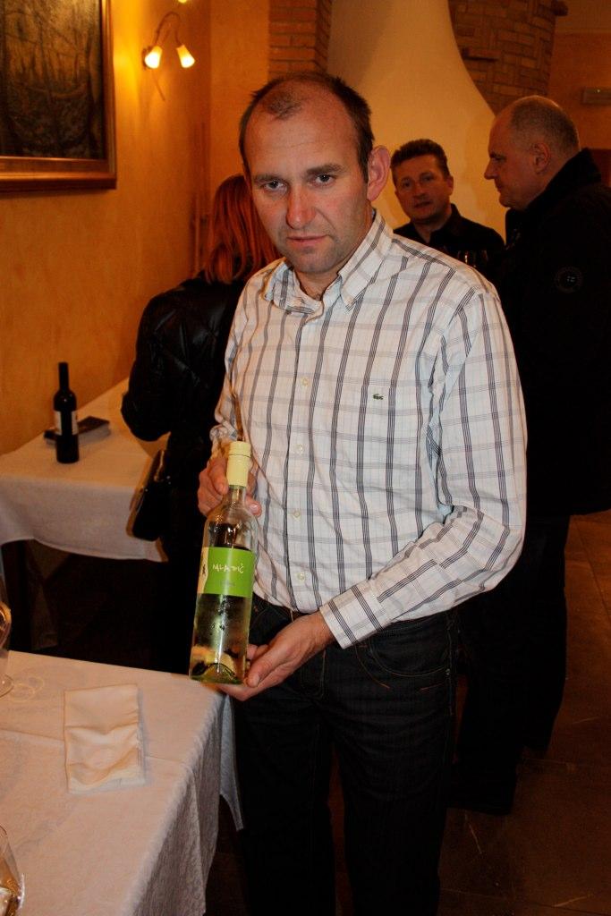 mr. Valdhuber, Valdhuber wines - presenting Mladič