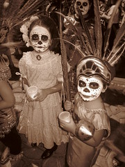 Children (furrcoatvg) Tags: children parade diadelosmuertos aztecdancer novemeber2nd missioninnst