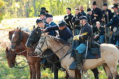 Liesurely Moment (GoshenLisa) Tags: horses army war kentucky union battle historic civilwar soldiers battlefield federal reenactment reenactors battlefields civilwarbattlefields perryville civilwarsites civilwarreenactment warbetweenthestates unionarmy civilwarbattlefield civilwarsite perryvillekentucky perryvillebattlefield battleofperryville horsesoldiers
