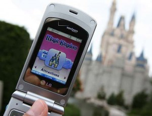 Disney by Cell Phone