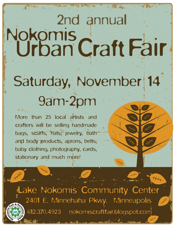 Nokomis Urban Craft Fair Poster