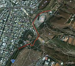 鰲峰山市鎮運動公園路線