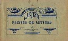 artiste peintre de lettres 0