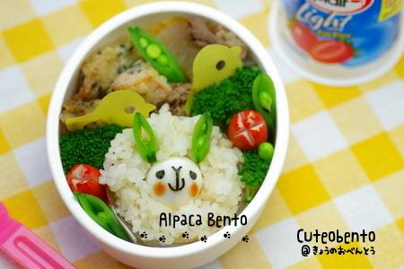 Alpaca Bento (by luckysundae)