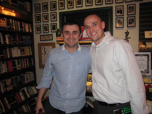 Jon Thomas with Gary Vaynerchuk