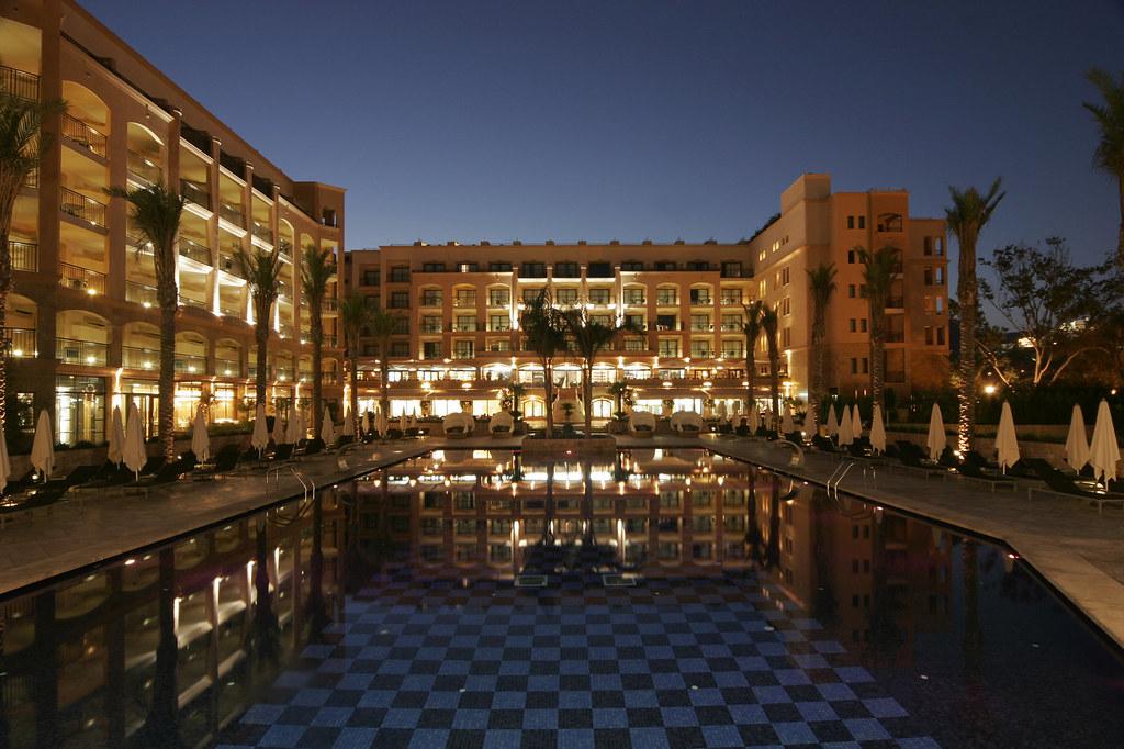 Insotel Fenicia Prestige Thalasso & Spa. Ibiza. Pool view at night