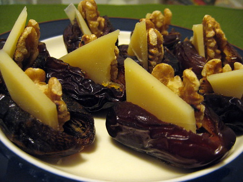 Parmesan Stuffed Dates