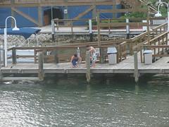 Tom & Huck (garynet) Tags: fish gulfofmexico boys boats fishing dock tomsawyer youths fortmyersbeach huckleberryfinn mantanzaspass bigmcasinoboat