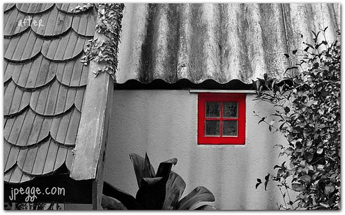 Red Window After