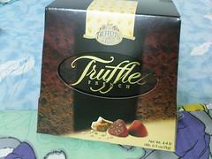 太妃糖松露巧克力的外盒