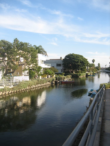 canals in venice, ca