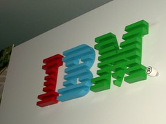 Multicolour IBM logo
