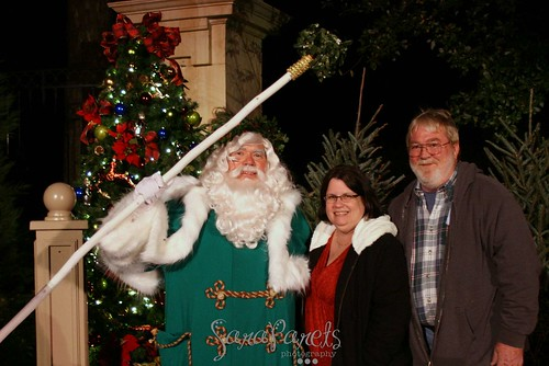 Father Christmas with Mom & Dad